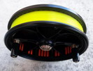 main line spooling on your reel