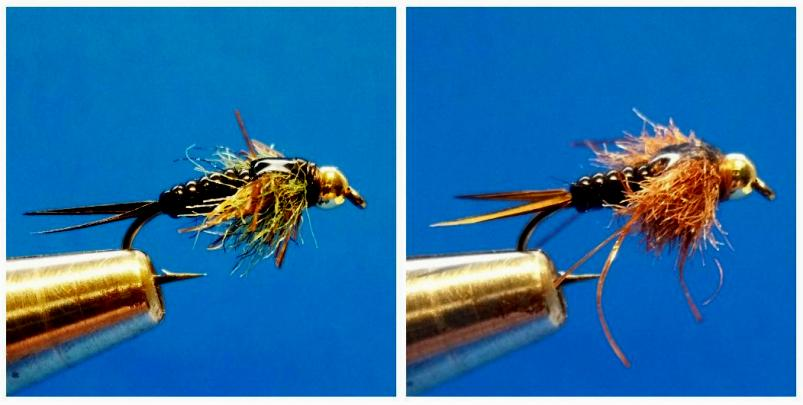rubber legged beaded stone fly. Hold on!!