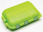meiho storage box lime color